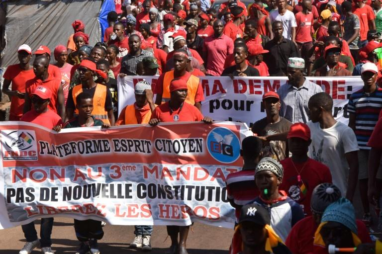 Guinea opposition vows new protests over Conde re-election bid