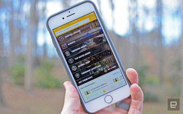 Untappd puts Foursquare-like beer recommendations front and center