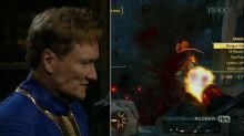 Conan O'Brien's 'Clueless Gamer' Takes On 'Fallout 4'
