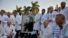 Cuba refuta 'campanha' dos EUA contra seus médicos em plena pandemia