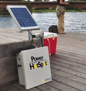 Power HotSpot for 12 volt 'noncritical' electronics and the survivalists who love them