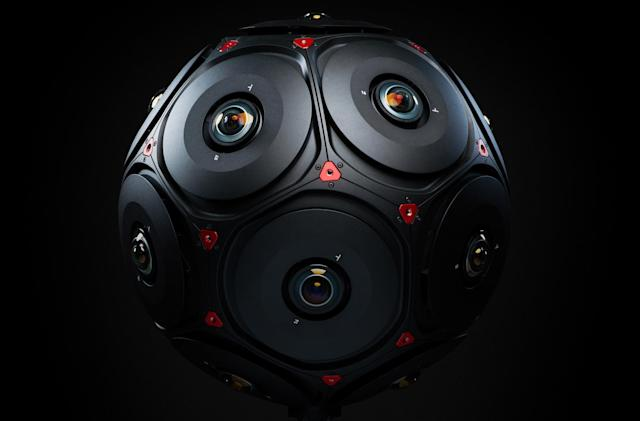 Facebook and RED unveil their Manifold 3D VR camera