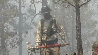 Firefighters In Arizona Protecting New Mexico