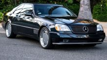 Michael Jordan's 1996 Mercedes-Benz S600 is up for auction on eBay — take a closer look