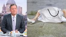 Piers Morgan criticises Victoria Beckham's carrier photo series: 'Have some dignity'