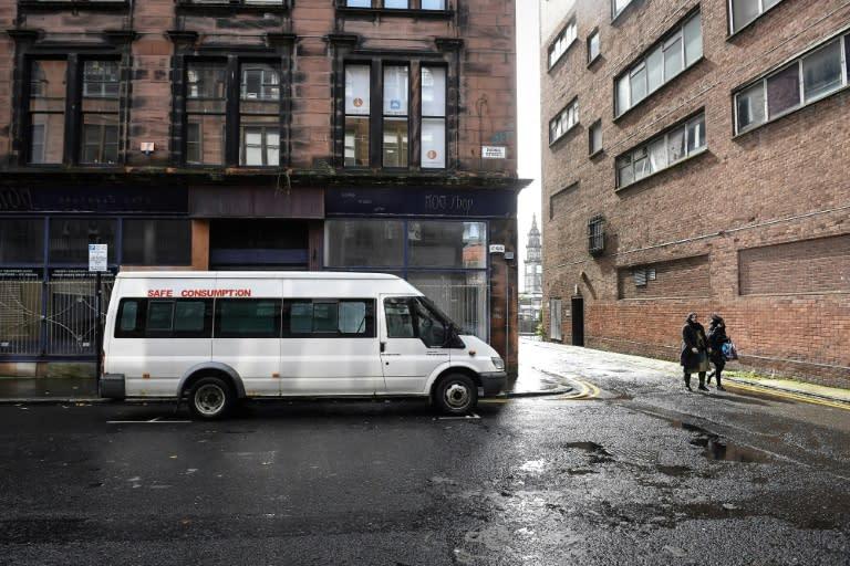 Krykant hopes his 'Safe Consumption' van falls into a legal grey area
