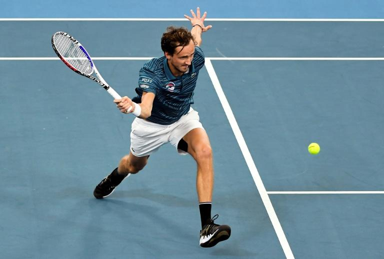 No Lucky Shower As Medvedev Looks To Clean Up At