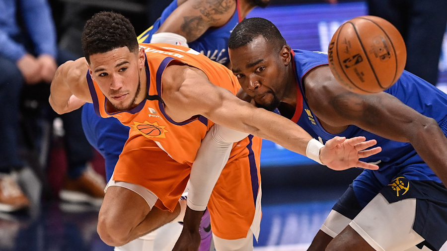 Suns coast to 3-0 series lead over Nuggets