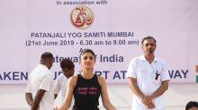 International Yoga Day: Yoga Outfits Beyond Yoga Mats!