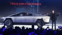 Tesla Stock Drops As Cybertruck's Shattering Debut Delights And Confuses