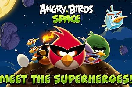Angry Birds Space now available for the Mac, iPhone and iPad