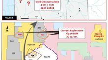 Découverte d'une importante zone aurifère à North Choco