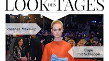 Look des Tages: Elle Fanning in voluminöser Valentino-Robe