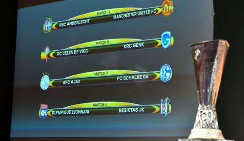 Europa League: Auslosung Viertelfinale: Schalke trifft auf Ajax