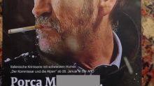 Rocco Schiavone e la bestemmia sulla prima pagina di un giornale tedesco