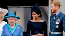 Queen Elizabeth announces 'period of transition' for Prince Harry and Meghan after meeting at Sandringham