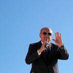 Erdogan says Turkey will take issue of Golan Heights to U.N.
