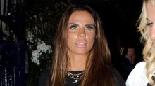 Katie Price hits back at claims she faked her broken feet