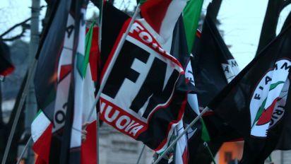 """Blitz di Forza Nuova da Floris, Fiore: """"La7 tv antifascista, non ci fermano"""""""