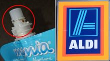 Mum's horrifying find after buying baby food at Aldi