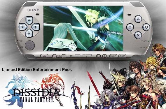 America gets not-special Limited Edition Dissidia PSP bundle