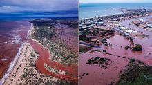 Aussie town cops a year's worth of rain in one night