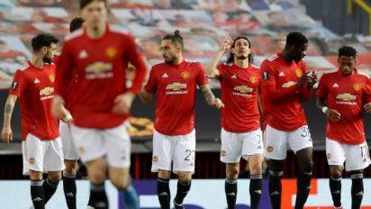 Foot - C3 - Ligue Europa: le Manchester United de Cavani file en demi-finales et défiera la Roma