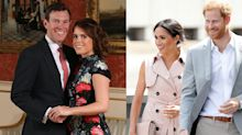 Princess Eugenie's Wedding Invites Compared to Harry & Meghan's