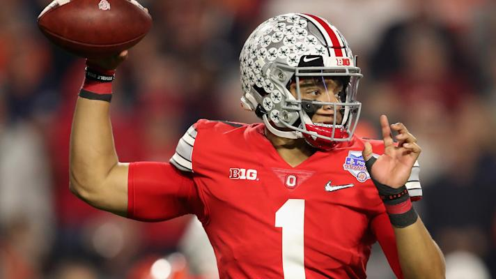 Bears trade up to select Ohio State QB Justin Fields