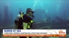 Aussie underwater cemetery