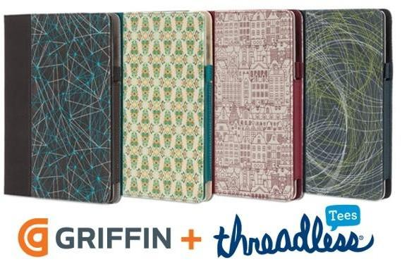 Griffin, Threadless again team up to bring community art to your iPad, iPhone