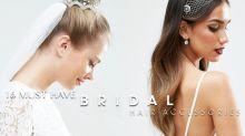誰說新娘頭上只能放鮮花?這 16 款頭飾,讓你人前人後也美如公主!