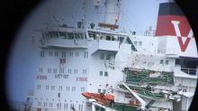 Tanker and freighter collide off Britain