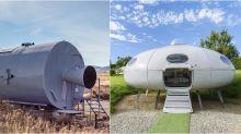 Airbnb disponibiliza aluguel de casas inspiradas em espaçonaves por R$ 41