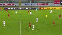 Foot - L. nations - Ligue des nations: tous les buts de Malte - Lettonie en vidéo