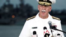 U.S. Navy Pacific commander misses promotion, retiring after collisions