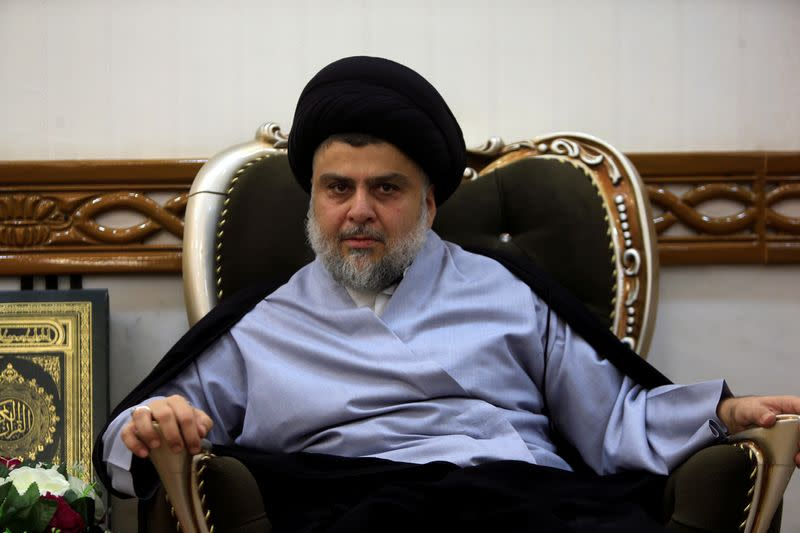 Influential Iraqi cleric Sadr calls for anti-U.S. demonstrations