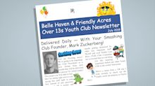 Belle Haven & Friendly Acres Over 13s Youth Club Newsletter
