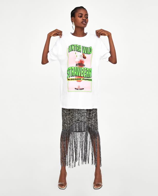 camiseta i want to break free zara