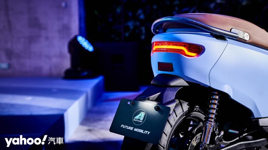 走出自我美型新風格!A-Motor宏佳騰智慧電車Ai-3 Comfort全新發表! - 5