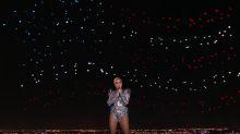 Lady Gaga y su show en el medio tiempo del Super Bowl: ¿cómo se hizo el efecto de la bandera?