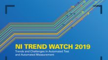 NI Trend Watch 2019 Explores the Internet of Things, the Commercial Deployment of 5G and Autonomous Driving for the Masses