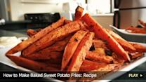 How to Make Baked Sweet Potato Fries: Recipe