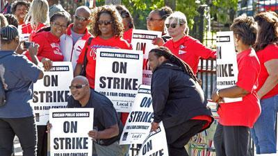 No deal yet as Chicago teachers strike continues