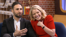 'GMA Day' co-host Sara Haines met her husband on OkCupid — and he had no idea she was famous