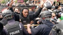 Breonna Taylor: Two officers shot during Louisville protests