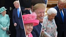 The Queen handled Donald Trump's state visit 'beautifully'