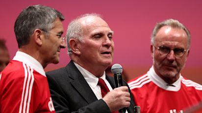 Man City FFP ruling 'a clear slap in the face for UEFA', says Bayern president Hoeness