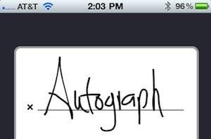 Ten One Design licensing Autograph signature capture to developers