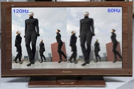 LG's 120Hz LCDs now with 52-inches of wood